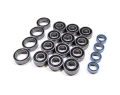 Tamiya TT-01 Type E High Performance Full Ball Bearings Set Rubber Sealed (20 Total) by Boom Racing