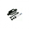 Xray M18T Graphite Main Chassis Kit For M18T by 3Racing