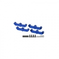 Kyosho FW-06 Aluminum Rear Lower Suspension Set For FW06 by 3Racing