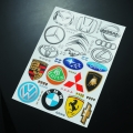 Miscellaneous All Logo Decal Selection 1 by Matrixline RC