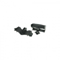 Tamiya F103RM Front And Rear Wing Set - High Downforce For F103RM - Black by 3Racing