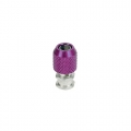 Miscellaneous All Antenna Post (3mm Screw Hole) - Purple by 3Racing