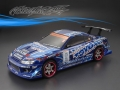 Miscellaneous All Nissan GP Sports S15 Silvia Finished Lexan Body Shell RTR 195mm W/ Light Buckets by Matrixline RC