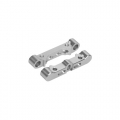 Kyosho Lazer ZX-5 Aluminum Front Suspension Mount Set For Lazer ZX-05 by 3Racing
