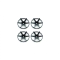 Miscellaneous All Wheel Dish Concave 6 Black (4Pcs) by Street Jam