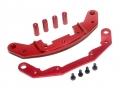 3Racing Sakura D3 CS Sport Aluminum Front Upper & Lower Bumper Red by Boom Racing