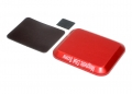 Miscellaneous All Aluminum Screw Tray With Magnetic Pad For RC Car (108MM X88MM) Red by Team Raffee Co.