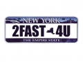 Miscellaneous All Realistic New York Plate (2FAST4U) For RC Cars by ATees