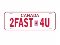 Miscellaneous All Realistic Canada Plate (2FAST4U) For RC Cars by ATees