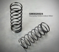 Miscellaneous All Shock Spring 19x50mm Mideum White (2) (gm0020024) by Gmade