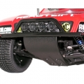 Team Associated SC10 Black Front Bumper, Skid Plate & Brace by RPM