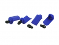 Traxxas Bandit Blue Shock Shaft Guards For Traxxas 1/10th Scale Shocks by RPM