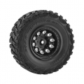 Traxxas Slash Traxxas Slash 2wd Front Revolver Wheels - Black ~tires not included~ by RPM