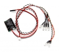 Axial Racing Axial AX10 Deadbolt Simple Led Controller W/led Lights (4 White and 2 Red)