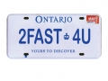 Miscellaneous All Realistic Ontario Plate (2FAST4U) For RC Cars by ATees