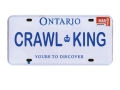 Miscellaneous All Realistic Ontario Plate (CRAWLKING) For RC Cars by ATees
