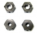 Kyosho V-One-RRR V-One RRR Aluminium Wheel Hub (GM) 4pcs by KM Racing
