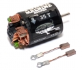 Miscellaneous All Tuned Machine Modified 540 Brushed  Motor 35T w/ 1 Pair Brush by Snow Panther