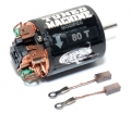 Miscellaneous All Tuned Machine Modified 540 Brushed Motor 80T w/ 1 Pair Brush by Snow Panther