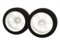 Miscellaneous All ITA--Tire -rim 26MM White SH 35 by Xceed
