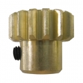 DHK Optimus XL (8381) Motor gear-15T/set screw(M4*4mm) by DHK