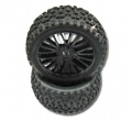 DHK Wolf BL (8131) Rear Tires For Buggy 8131 by DHK