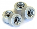 Kyosho Mini-Z F1 Wheel (E-Type / Silver) by Kyosho