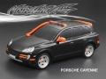 Matrixline RC Miscellaneous All Porsche Cayenne Finished Lexan Body Shell RTR 190mm Black