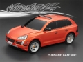 Miscellaneous All Porsche Cayenne Finished Lexan Body Shell RTR 190mm Orange by Matrixline RC