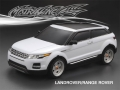 Miscellaneous All Land Rover/Range Rover Finished Lexan Body Shell RTR 195mm White by Matrixline RC