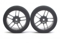 Miscellaneous All 26MM-40Sh.(Medium Hard) For 1/10 Front Tire (Black Series) by Speedmind