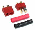 Miscellaneous All Hi-AMP Power T Plug Red (1Pr) by Speedmind