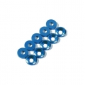 Miscellaneous All 4MM Countersink Screw Flat Washer Blue (10) by Speedmind
