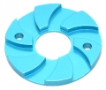 Miscellaneous All Motor Heatsink Spacer Blue by Speedmind