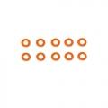 Miscellaneous All Aluminum Shims 3X6X0.5-Orange (10) by Arrowmax
