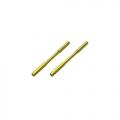 Mugen Seiki MRX5 Rear Lower Sus Shaft (Spring Steel) (2) by Arrowmax