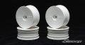 Miscellaneous All EXP Dish Wheel White (4Wheels) by Sweep Racing