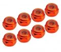 Miscellaneous All M3 Nuts - Orange (8 pcs) by Team C