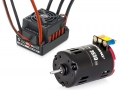 Miscellaneous All Hobbywing QuicRun Sensored Brushless System: 10BL60 ESC+3650-17.5T Motor Combo For 1/10 & 1/12 RC Black by Hobbywing