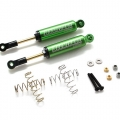 Miscellaneous All Boomerang™ Type I Aluminum Internal Shocks Set 100MM (2) Green [OFFICIAL RECON G6 SHOCKS]  by Boom Racing